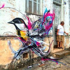 «@l7matrix in Sao Paulo, Brazil. #contemporaryartcurator #streetartofficial #streetartphotography #graffitiart #art #streetart #instagraffiti #painting…»