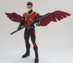 New 52 Red Robin custom action figure by Jedd-the-Jedi on deviantART