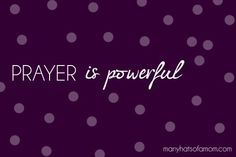 Oh yes it is! I just LOVE when you're in the middle of prayer and God puts something (out of nowhere) on your heart...So you pray about it and He answers right away! <3