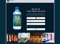 Enter the Fiji Water Fashion Week Sweepstakes for a chance to win a 2-night trip for two in New York, NY!