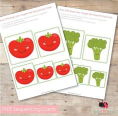 free printable sequence cards