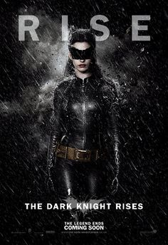 Anne Hathaway as Catwoman in The Dark Knight Rises. From what I have seen in the trailers, I think that she is going to be a better Catwoman than Halle Berry was. I think her competition/comparison will be Michelle Pfeiffer from Batman Returns just like Heath Ledger was compared to Jack Nicholson before The Dark Knight opened.