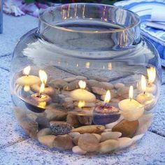 Gesellige Kerzen für den Garten mit diesen selbstgemachten Windlichtern, 8 hübsche Ideen! - DIY Bastelideen