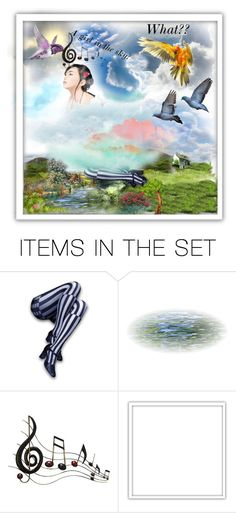 """""""Trip in the cloud"""" by jaja8x8 ❤ liked on Polyvore featuring art"""