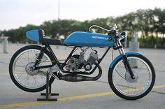 Motobecane Moped Racer - Craig Dueck  |  Pipeburn.com
