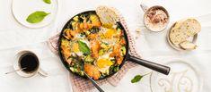 Kylmäsavulohi-munapannu | Pääruoat | Reseptit – K-Ruoka Quiche, Breakfast, Kitchen, Food, Morning Coffee, Cooking, Kitchens, Essen, Quiches