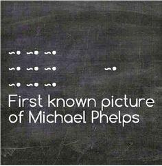 What a champ. #MichaelPhelps