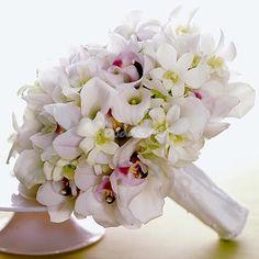 Fresia, cala y orquídea