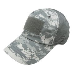 de45715050b Condor Mesh Tactical Cap Highly breathable mesh panel for moisture -  wicking Adjustable hook   loop back strap 3 hook   loop panel for patches