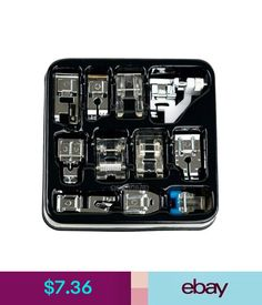 Sewing Machines 11Pcs Multi-Function Domestic Household Sewing Machine Presser Foot Feet Tool #ebay #Home & Garden