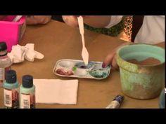 Café com Arte- Pintura Imitação Vietnamita  - Episódio 28