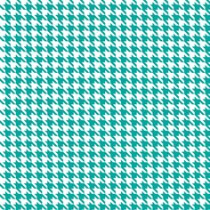 Turquoise Houndstooth fabric by moharris on Spoonflower - custom fabric