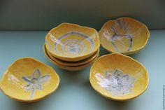 Пиалки Солнечные - керамика ручной работы