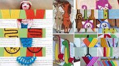 Вязаные крючком красивые закладки для книг - YouTube