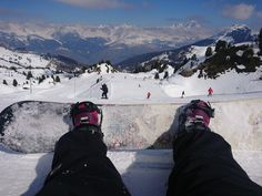 Solo Snowboarding In The Alps - La Plagne With Will-I-Ski Chalet Genepy  #travelinspo #travelmore #travel #luxurytravel #snowboarding #alps #france