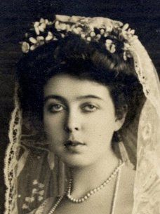 Crown Princess Margaret of Sweden on her wedding day, she was born Margaret of Coonaught to Arthur, Duke of Connaught (7th child of Queen Victoria) and Louise Margaret of Prussia