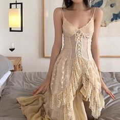 Pretty Outfits, Pretty Dresses, Beautiful Dresses, Glamouröse Outfits, Cool Outfits, Aesthetic Fashion, Aesthetic Clothes, Casual Dresses, Fashion Dresses