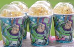 Story Birthday Party Cups-Popcorn Box-Set of 8 Toy Story Theme, Toy Story Buzz, Toy Story Party, Baby 1st Birthday, Toy Story Birthday, 3rd Birthday Parties, Birthday Ideas, Festa Toy Store, Cumple Toy Story