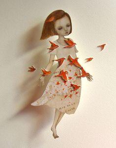 鳥になって  I will be a bird  (2013) by Maki Hino