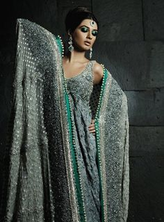 Umar Sayeed Pakistani Bridal Collection Model: Iman