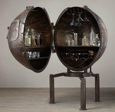German Bar Sphere - 1920s - TURN EVERYTHING INTO 'SECRET' LIQUOR CABINETS