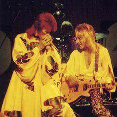 aladdin sane tour 1973