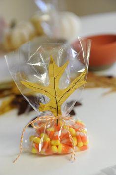 #Autumn party favours