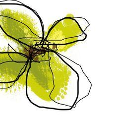 Green Petals Mixed Media at ArtistRising.com