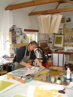 Bruce Pearson  - Printmaker www.brucepearson.net
