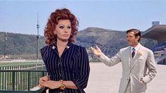 """Sophia Loren e Marcello Mastroianni in """"Matrimonio all'italiana"""""""