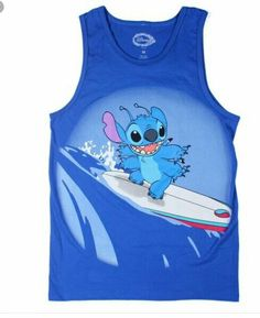 Men stitch tank top