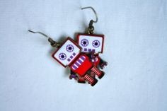 Domo Arigato Mr. Roboto Enamel and Brass by YogiYoAccessories, $8.99
