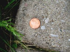 """I love finding a penny on the ground and I always pick it up!  Not for good luck but b/c """"In God We Trust"""" is imprinted on it.  Finding a penny is always unexpected and I believe it's God's way of making me stop for a second and think about what I can trust Him for at that very moment!"""