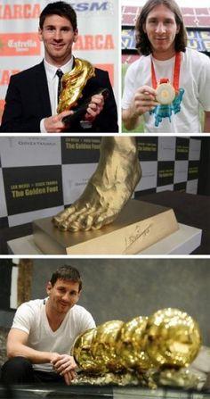 Gouden medaille, gouden bal, gouden voet & the Ballon D'or's !!