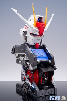 GUNDAM GUY: 1/24 Scale NeoGrade Strike Gundam Bust - Painted Build