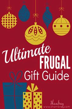 Wanting to give your loved ones gifts this Christmas, but tight on money?  This gift guide has so many ideas for EVERYONE on your list.  The most expensive item on the list is only $49.97!