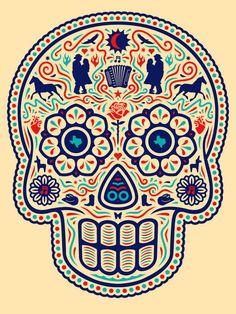 25 Ilustraciones tributo al Día de los Muertos por jóvenes artistas latinos