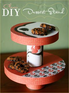 DIY Tutorial: Clever Dessert/Cake Stand