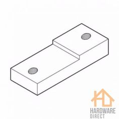 Fab-Tab with dual-fix (D-Fix) clip. Fabrication tab for door lock installation. Tools Hardware, Safety First, Metallic, Packing, Construction, Glasses, Bag Packaging, Building, Eyewear