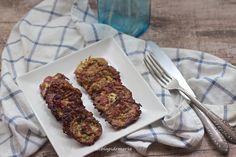 Tortillitas de calabacín, jamón cocido y queso | Comer con poco