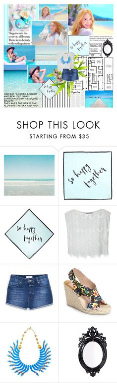 """""""There Is No Beauty Without Happiness"""" by m-i-s-s-y ❤ liked on Polyvore featuring Cotton Candy, Forum, Kate Spade, Alice + Olivia, MANGO, Dolce Vita and Belle Maison"""