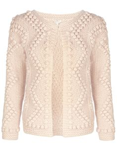 Knit and Purl Cardigan | Cream | Monsoon
