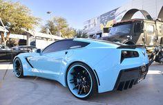 widebody | Widebody 2014 Corvette Stingray by Forgiato [Video]