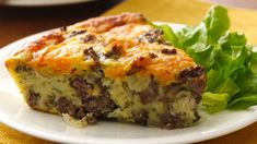 Craving a cheeseburger but eating gluten free? Try our tasty cheeseburger pie thanks to Bisquick® Gluten Free mix.