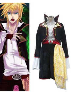 "Vocaloid The Grave Of Scarlet Dragon ""Full Ver"" Kagamine Cosplay Costume"