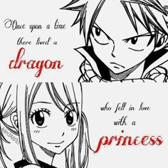 """""""One upon a time there lived a dragon who fell in love with a princess"""""""
