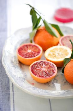 Blood oranges   Love them! Wish the season were longer!