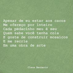 Clara Baccarin #emcacos #coração