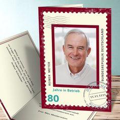 Einladungskarten 80. Geburtstag   Selbst Gestalten
