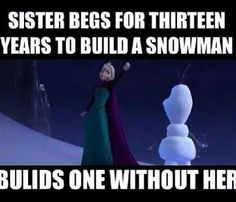 Builds one without her